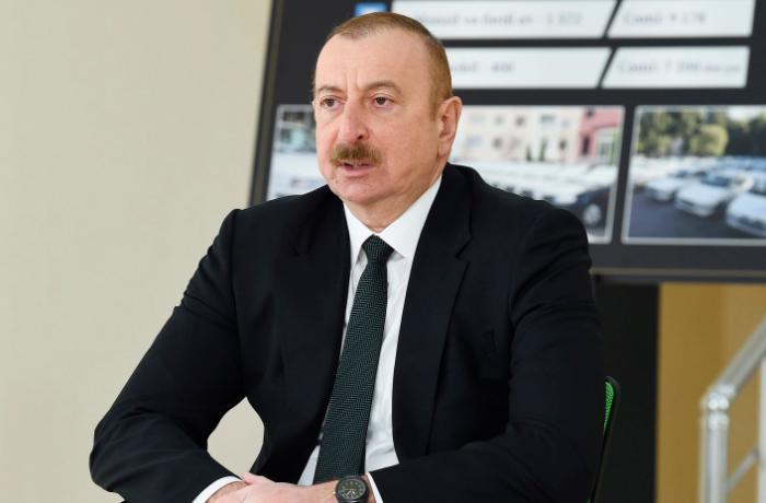 """""""Şəhid ailələrinə bu ilin sonuna qədər mənzillər veriləcək"""" - Prezident"""