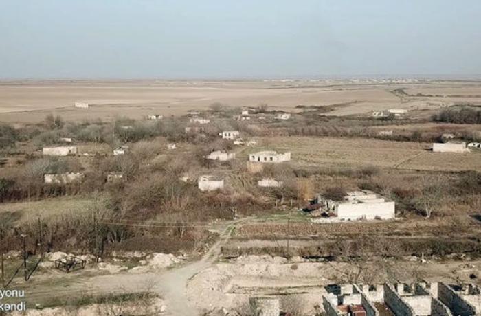 Ağdam rayonunun Tərnöyüt kəndinin GÖRÜNTÜLƏRİ