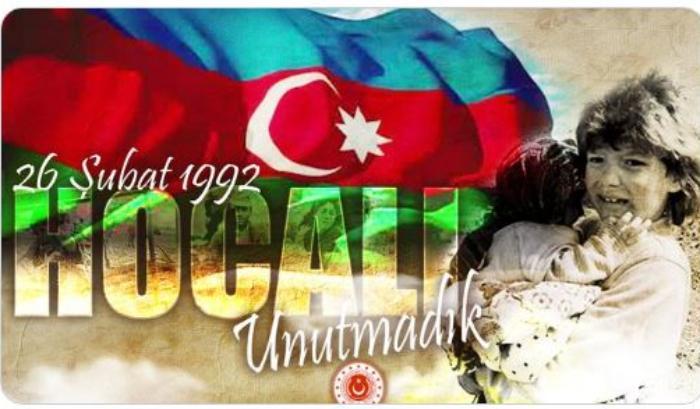 Türkiyə MN Xocalı soyqrımı ilə bağlı paylaşım edib