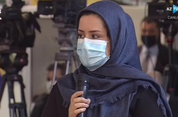 Jurnalistin konfransda verdiyi sualla bağlı İrandan AÇIQLAMA