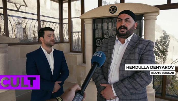 """""""Euronews"""" Qırmızı qəsəbədən reportaj hazırladı - VİDEO"""