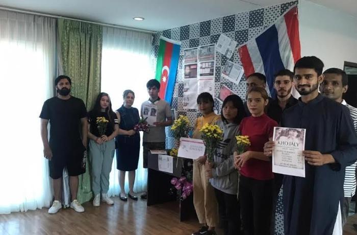 Tailandda Xocalı soyqırımı qurbanları yad edilib