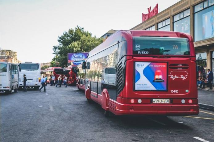 Bu avtobusların hərəkət qrafiki müvəqqəti dəyişdirildi - SİYAHI