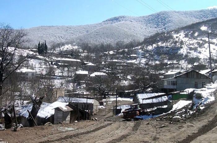 Xocavəndin Çiraquz kəndindən görüntülər - VİDEO