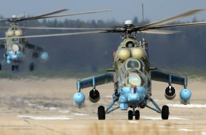 Rusiya helikopteri Suriyada qəzaya uğradı: Pilot öldü