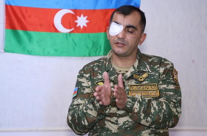 """""""Düşmən tankları səngərə girdikdən sonra anidən yoxa çıxırdı"""" - VİDEO"""