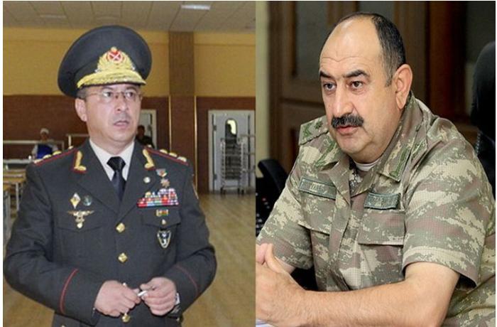 Generals Rovshan Akbarov and Khagani Jabrayilov transferred to reserve