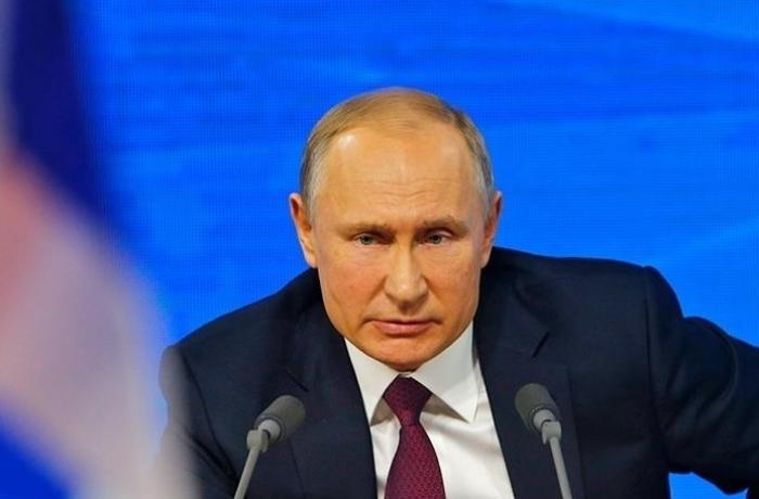 Putin İsrail-Fələstin münaqişəsi barədə danışdı