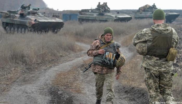 Donbasda atəşkəs pozuldu, 1 Ukrayna əsgəri öldü, 2-si yaralandı