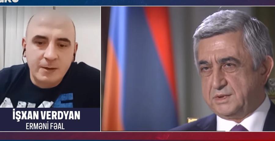 Ишхан Вердян попросил Ильхама Алиева избавить Армению от Кочаряна и Саргсяна