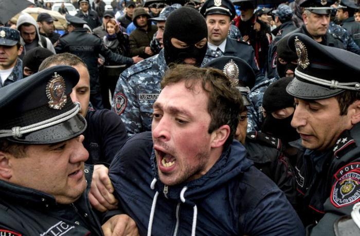 """Ermənistan polisi: """"Bu gün keçiriləcək mitinqdə təxribatlar ola bilər"""""""
