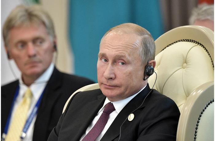 Peskovdan Putinin səhhəti ilə bağlı AÇIQLAMA