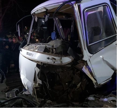 Gəncədə baş verən qəzada yaralananların kimliyi bilindi - FOTO - YENİLƏNİB
