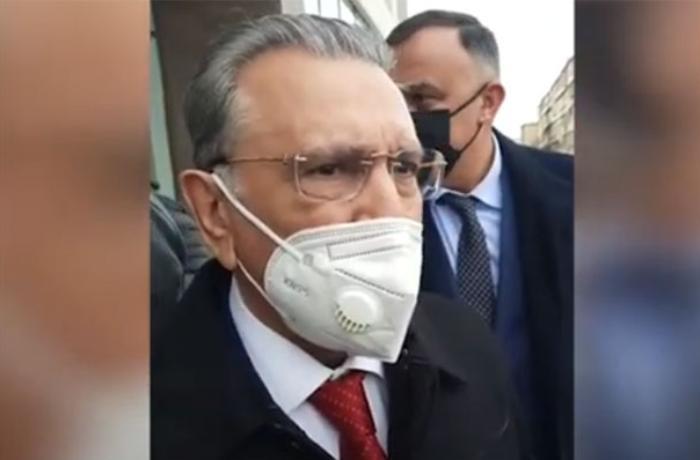 Ata Abdullayev YAP-ın qurultayından sonra Ramiz Mehdiyevə sual verdi - VİDEO