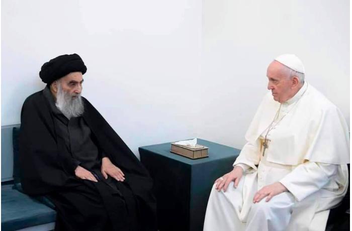 Roma Papası İraqda Sistani ilə görüşdü