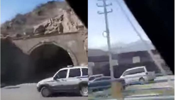 Ermənistan MTX  Azərbaycan hərbçilərinin Qafan şəhərində videoçəkiliş aparmasını təsdiqlədi - VİDEO