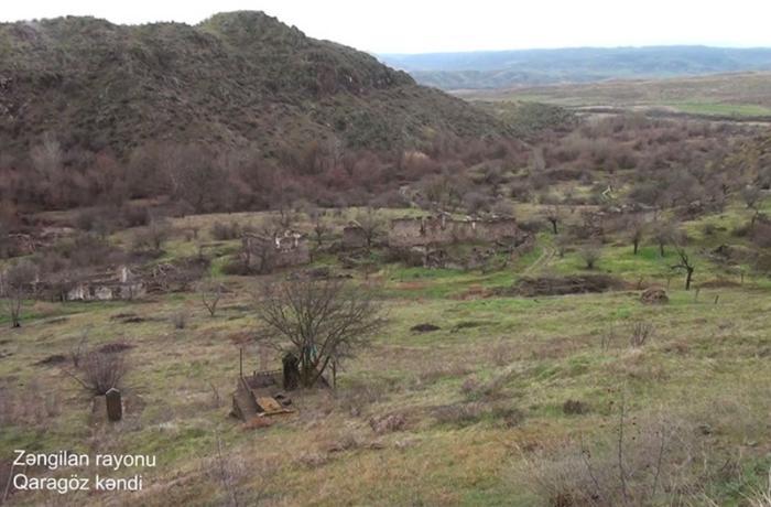 Zəngilanın Qaragöz kəndi - VİDEO