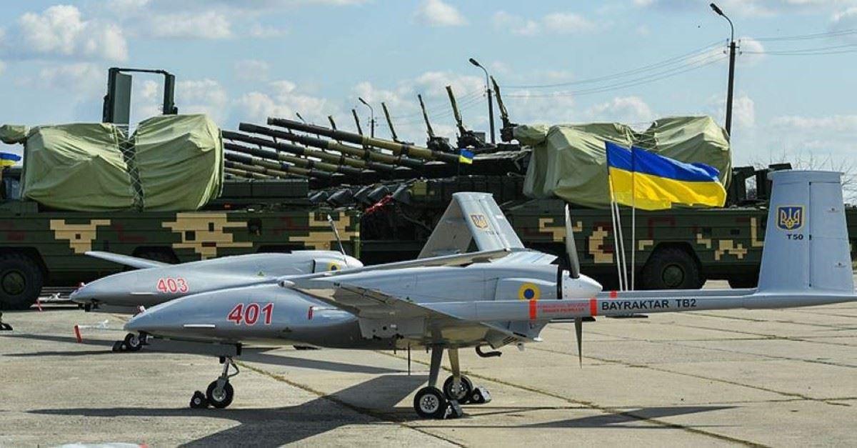 """Havada """"Bayraktar"""" göründü, Donbassda separatçılar qorxuya düşdü"""