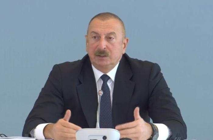Prezident İlham Əliyev Paşinyanla görüşün şərtini açıqladı