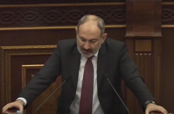 Paşinyan çıxışı zamanı çaşıb Putinlə bağlı görün nə dedi – VİDEO