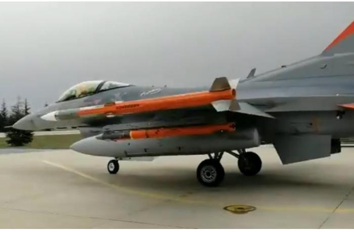 Türkiyə hazırladığı yeni raketi sınaqdan keçirdi - VİDEO