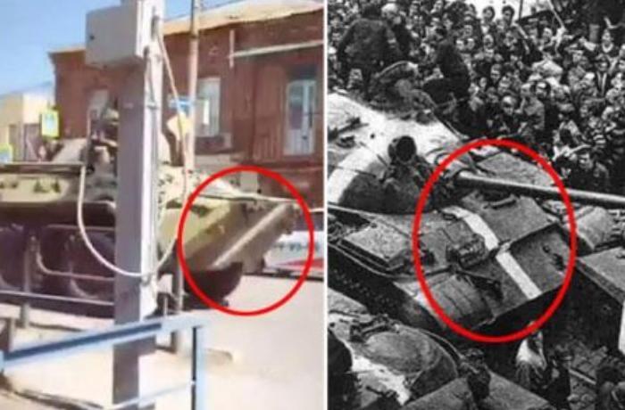 Rusiya 53 il sonra yenidən zirehli texnikalara döyüş boyası vurdu - FOTO
