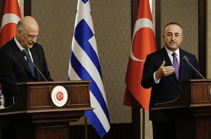 """Çavuşoğlu ilə yunan nazir arasında qalmaqal: """"Onları necə dənizə atdığınızın şahidiyik"""" - VİDEO"""