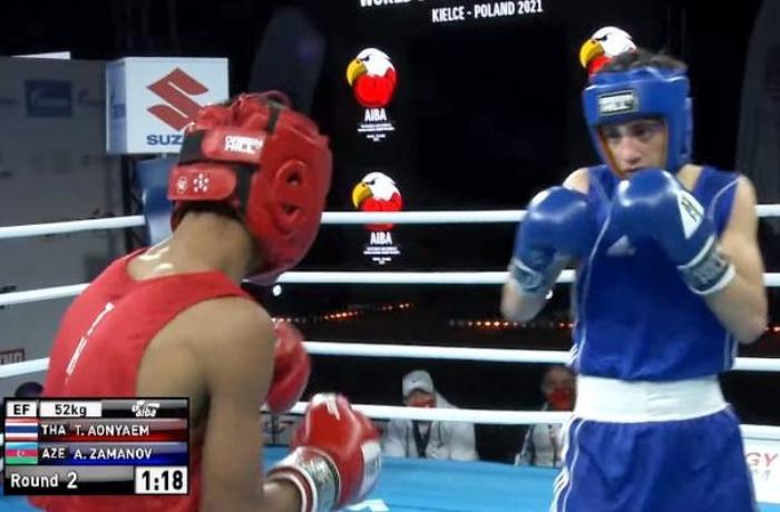 Azərbaycan boksçusu dünya birinciliyində 1/4 finala yüksəlib