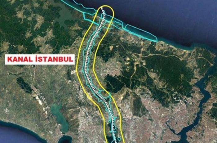 """Ərdoğan """"Kanal İstanbul""""un inşasının başlayacağı tarixi açıqladı"""