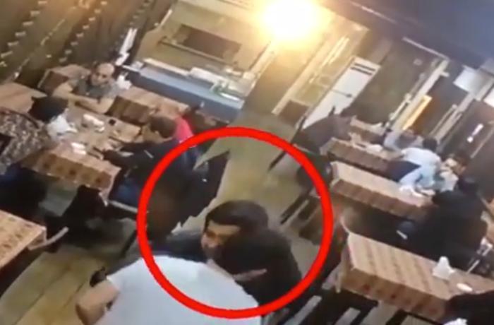 Bakıda koronavirus xəstəsi kafeyə gedib insanlarla öpüşüb-görüşdü - VİDEO