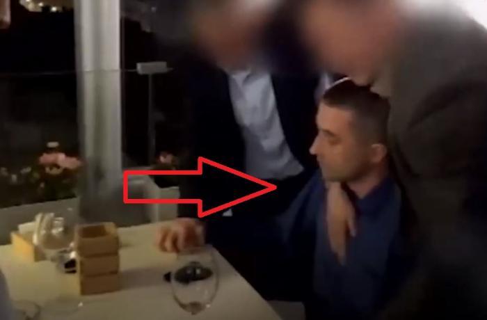 Ukrayna diplomatının FSB tərəfindən saxlanılma görüntüləri -  ANBAAN VİDEO