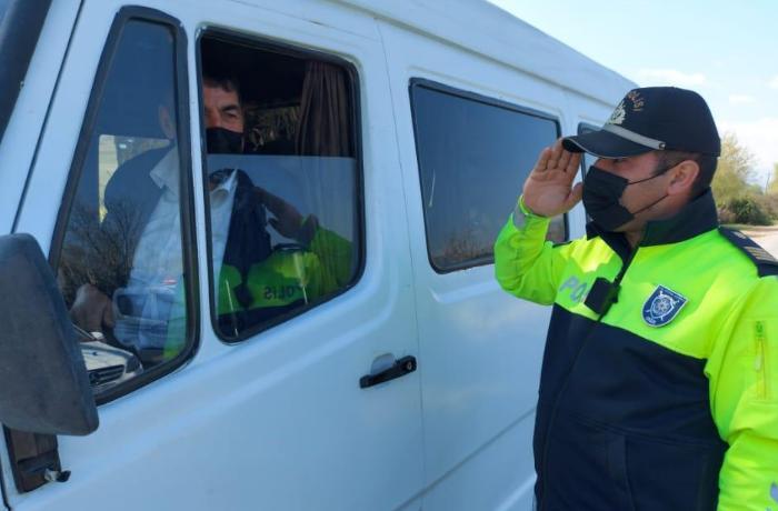 Xocalı polisi karantin rejimi ilə bağlı Goranboyda reyd keçirib