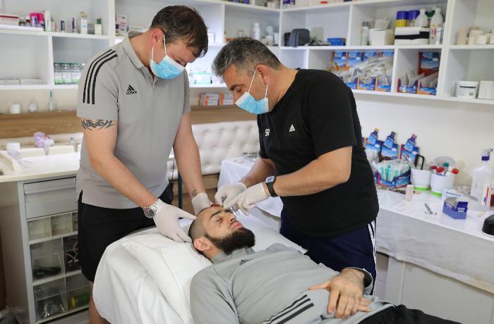"""Başına 25, üzünə 7 tikiş qoyulan """"Qarabağ""""ın qapıçısı danışdı"""