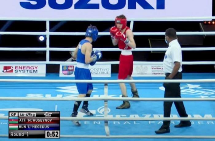 Boksçumuz dünya birinciliyində yarımfinala yüksəlib - erməni ilə qarşılaşacaq