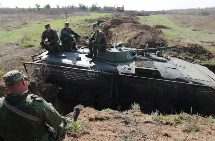 Rusiyanın Donbasda hərbi əməliyyatlara başlayacağı iddialarına Fransadan REAKSİYA