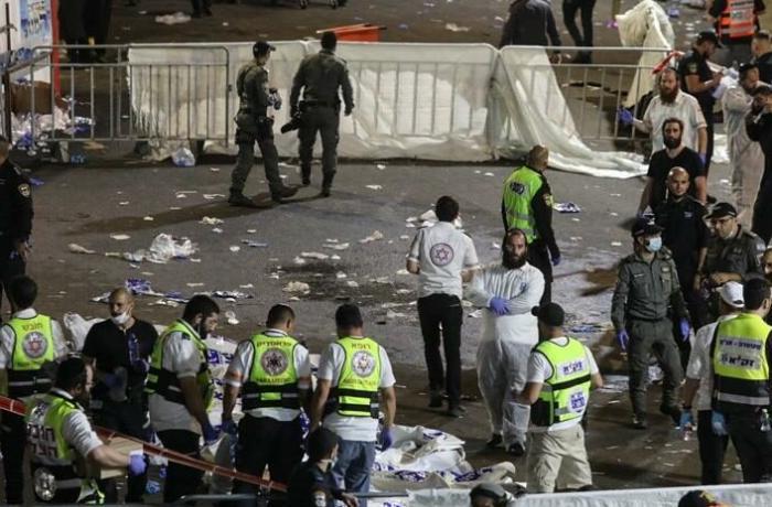 İsrail'de Lag BaOmer Bayramı kutlamalarında sahne çöktü: 44 ölü 100'den fazla yaralı