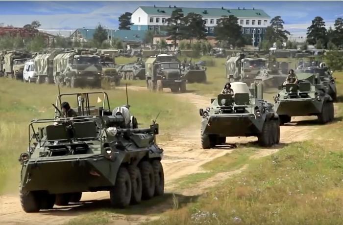 Rusiya Ukrayna ilə sərhəddən qoşunlarını geri çəkir