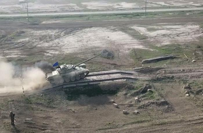 Azerbaijani MOD: Tank units carried out combat firing - VIDEO