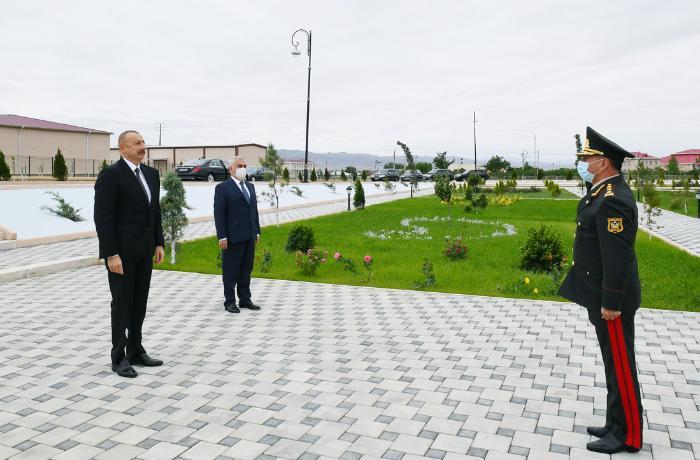 Naxçıvan Qarnizonu Mərkəzi Hospitalının açılışı olub - FOTOLAR
