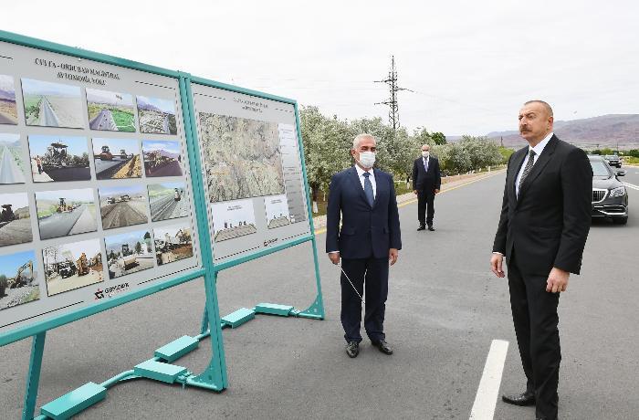 Prezident Culfa-Ordubad yolunun açılışında iştirak edib - YENİLƏNİB