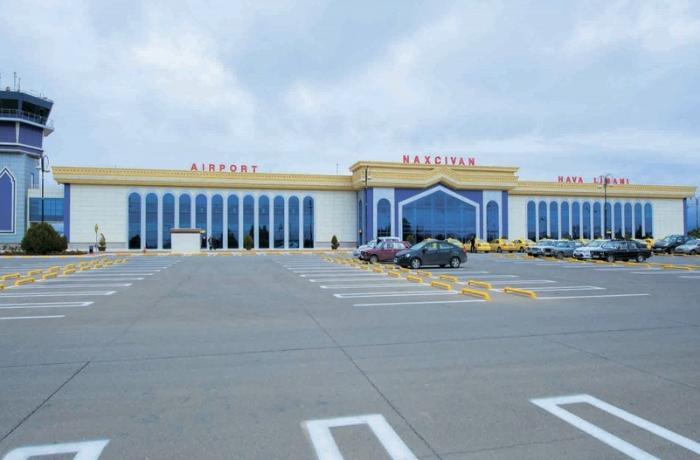 Naxçıvan Beynəlxalq Hava Limanının yeni uçuş-enmə zolağının təqdimatı olub