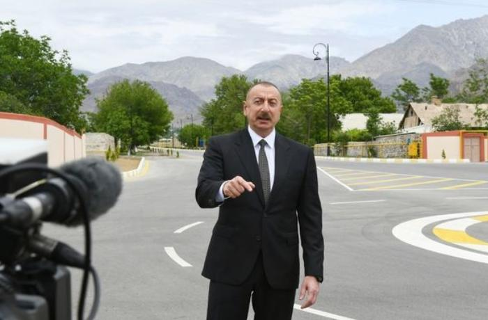 Prezident Azərbaycan Televiziyasına müsahibə verib - YENİLƏNİB + FOTOLAR