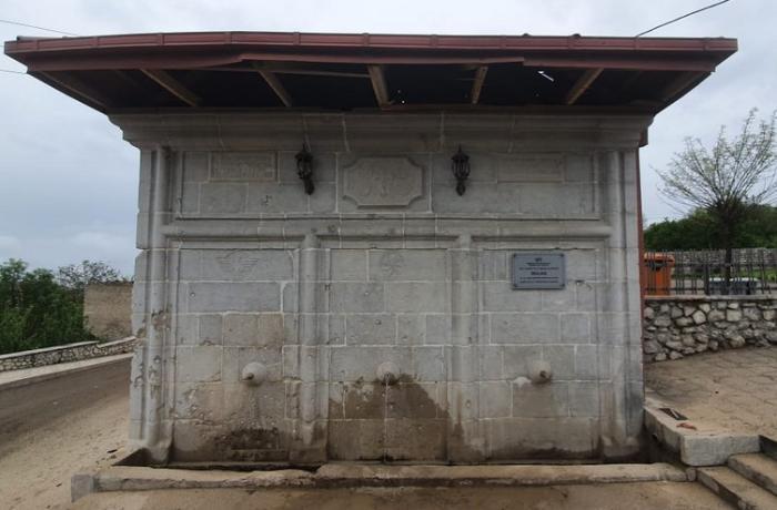 Şuşadakı Mamay bulağı öz tarixi görkəminə qaytarılır - FOTOLAR