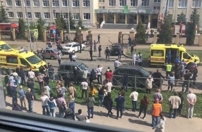 Kazanda məktəbdə 13 nəfərin ölümünə səbəb olan hadisənin TƏFƏRRÜATLARI