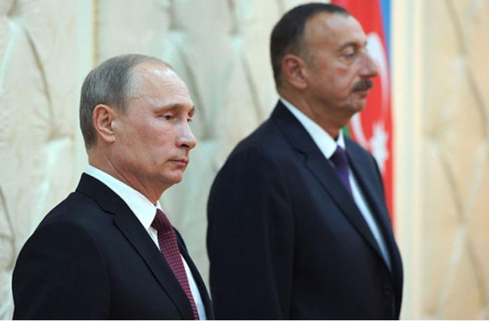 İlham Əliyev Putinə başsağlığı verdi