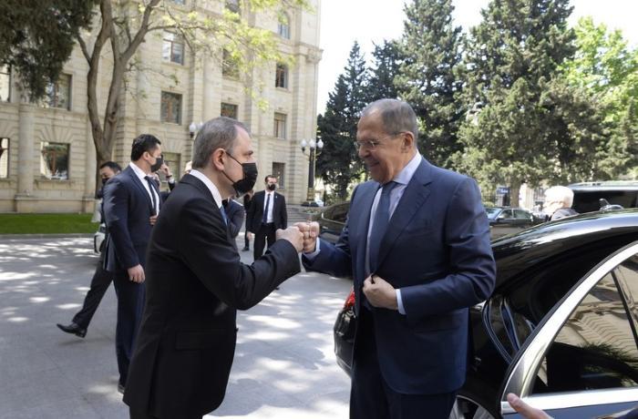 Ceyhun Bayramov və Lavrovun görüşünün təfərrüatı AÇIQLANDI