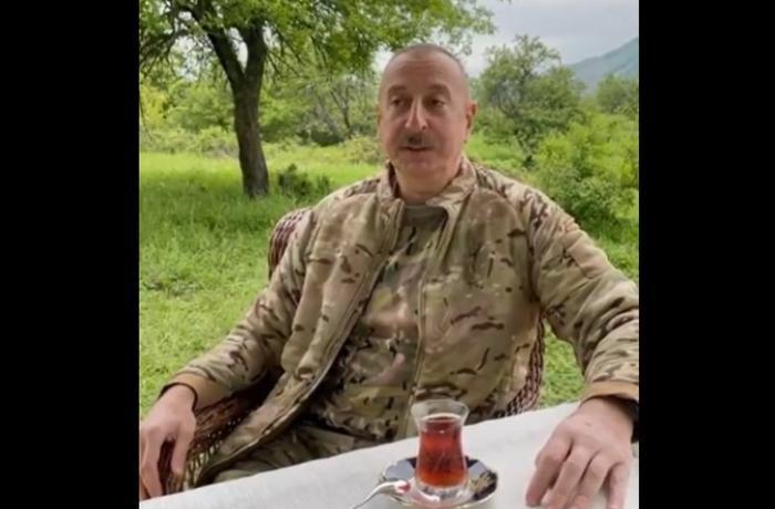 Prezident və xanımı Şuşaya gedir - VİDEO
