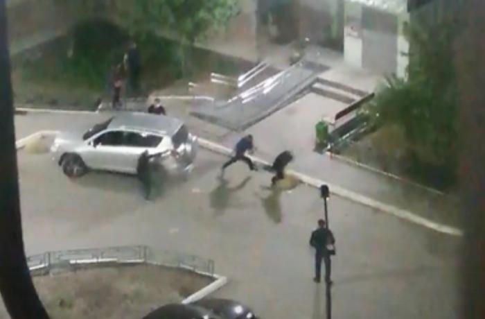 """Rusiyada Lənkəranskinin və """"Lotu Quli""""nin tərəfdarları arasında atışma - ANBAAN VİDEO"""