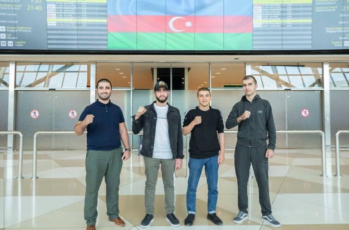 Türkiyəyə göndərilən daha 5 qazimiz sağalaraq Vətənə dönüb - FOTO