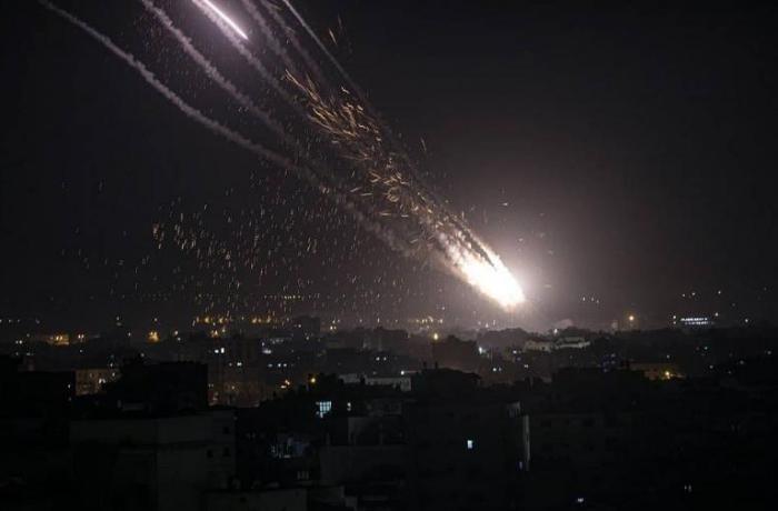 Bu gecə Qəzzadan 90 raket atılıb – İsrail MN
